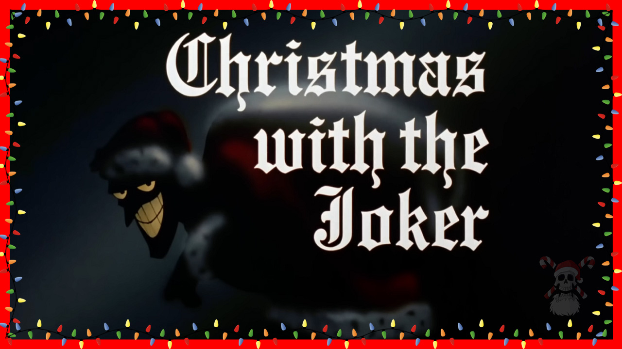 Batman Christmas.Stocking Stuffer 19 Batman Christmas With The Joker